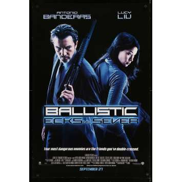 BALISTIC Affiche de film - 69x102 cm. - 2002 - Antonio Banderas, Lucy Liu, Kaos