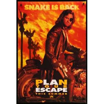 ESCAPE FROM L.A. Original Movie Poster Adv. - 27x40 in. - 1996 - John Carpenter, Kurt Russel