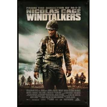 WINDTALKERS Original Movie Poster - 27x40 in. - 2002 - John Woo, Nicolas Cage