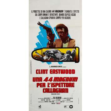 MAGNUM FORCE Original Movie Poster - 13x28 in. - 1973 - Ted Post, Clint Eastwood