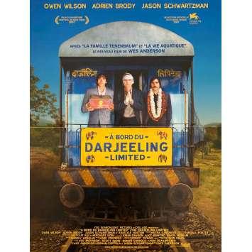 A BORD DU DARJEELING LIMITED Affiche de film - 40x60 cm. - 2007 - Owen Wilson, Adrien Brody, Wes Anderson