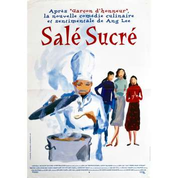 SALE SUCRE Affiche de film - 40x60 cm. - 1994 - Sihung Lung, Ang Lee