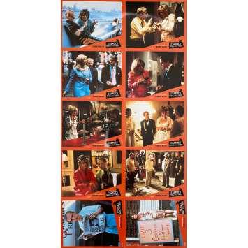 ESCROCS MAIS PAS TROP Photos de film x10 - 21x30 cm. - 2000 - Hugh Grant, Woody Allen