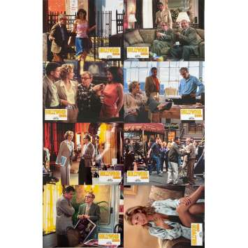 HOLLYWOOD ENDING Original Lobby Cards X8 - 9x12 in. - 2002 - Woody Allen, Téa Leoni