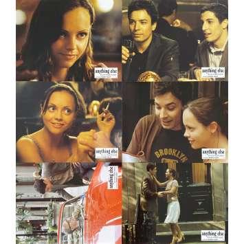 LA VIE ET TOUT LE RESTE Photos de film x6 - 21x30 cm. - 2003 - Christina Ricci, Woody Allen