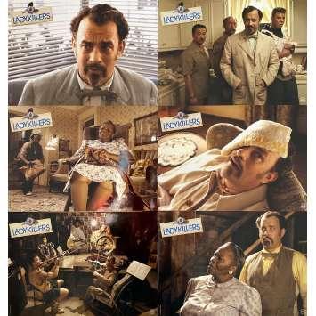 LADYKILLERS Photos de film x6 - 21x30 cm. - 2004 - Tom Hanks, Joel Coen