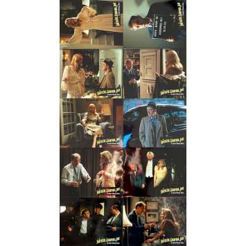 THE CURSE OF THE JADE SCORPION Original Lobby Cards x10 - 9x12 in. - 2001 - Woody Allen, Greg Stebner