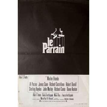 LE PARRAIN Affiche de film 1ère sortie - 40x60 cm. - 1972 - Marlon Brando, Francis Ford Coppola