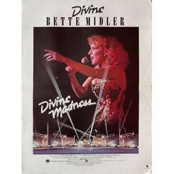 DIVINE MADNESS Affiche de film - 40x60 cm. - 1980 - Bette Davis, Michael Ritchie