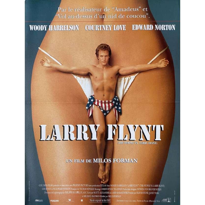 LARRY FLINT Affiche de film - 40x60 cm. - 1996 - Woody Harrelson, Milos Forman