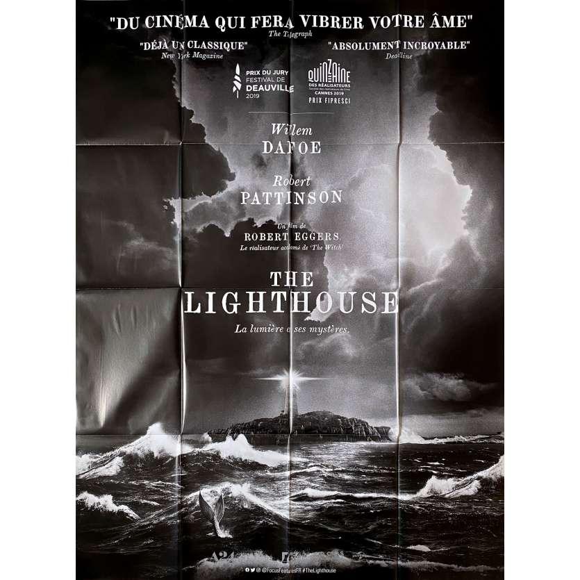 THE LIGHTHOUSE Affiche de film - 120x160 cm. - 2019 - Robert Pattinson, Willem Dafoe, Robert Eggers