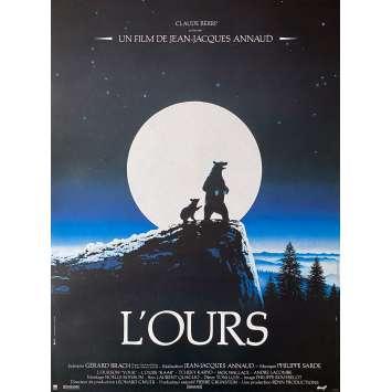 L'OURS Affiche de film - 40x60 cm. - 1988 - Tchéky Karyo, Jean-Jacques Annaud