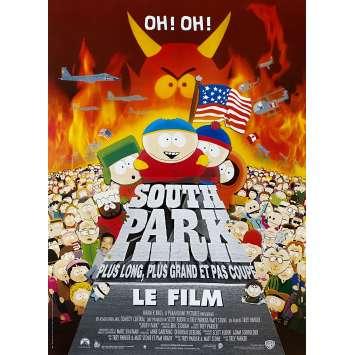 SOUTH PARK Affiche de film - 40x60 cm. - 1999 - Matt Stone, Trey Parker
