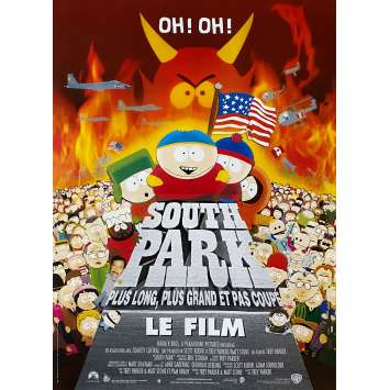 SOUTH PARK Original Movie Poster - 15x21 in. - 1999 - Trey Parker, Matt Stone