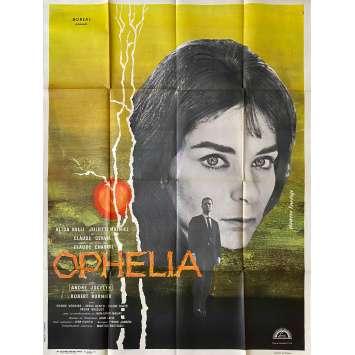 OPHELIA Affiche de film - 120x160 cm. - 1963 - Alida Valli, Claude Chabrol