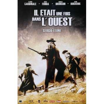 IL ETAIT UNE FOIS DANS L'OUEST Affiche de film - 40x60 cm. - R2000 - Henry Fonda, Sergio Leone