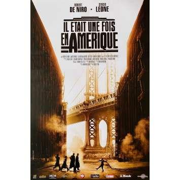 IL ETAIT UNE FOIS EN AMERIQUE Affiche de film - 40x60 cm. - R2000 - Robert de Niro, Sergio Leone