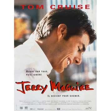 JERRY MAGUIRE Affiche de film - 40x60 cm. - 1996 - Tom Cruise, Cameron Crowe