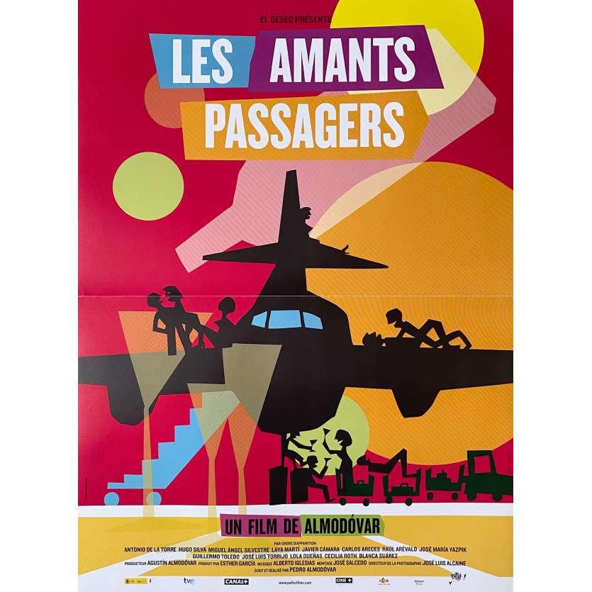 I'M SO EXCITED Original Movie Poster - 15x21 in. - 2013 - Pedro Almodóvar, Javier Cámara