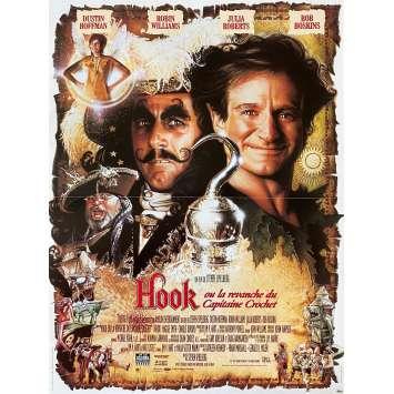 HOOK Original Movie Poster - 15x21 in. - 1991 - Steven Spielberg, Dustin Hoffman