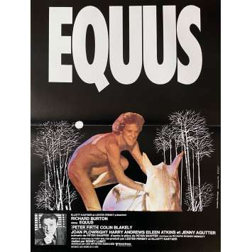 EQUUS Original Movie Poster - 15x21 in. - 1977 - Sidney Lumet, Richard Burton