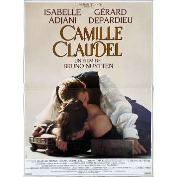 CAMILLE CLAUDEL Original Movie Poster - 15x21 in. - 1988 - Bruno Nuytten, Isabelle Adjani, Gérard Depardieu