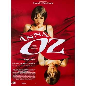 ANNA OZ Affiche de film - 40x60 cm. - 1996 - Charlotte Gainsbourg, Eric Rochant