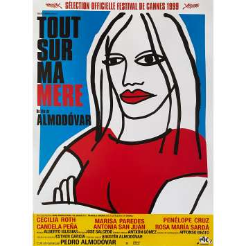 ALL ABOUT MY MOTHER Original Movie Poster - 15x21 in. - R2000 - Pedro Almodovar, Cecilia Roth