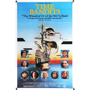 TIME BANDITS US Movie Poster 27x41 - 1981 - Terry Gilliam, Sean Connery -
