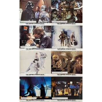 STAR WARS - EMPIRE STRIKES BACK Original Lobby Cards x8 - 8x10 in. - 1980 - George Lucas, Harrison Ford