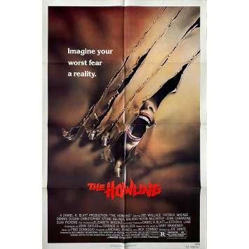 THE HOWLING Original Movie Poster - 27x41 in. - 1981 - Joe Dante, Patrick McNee