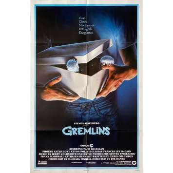 GREMLINS Affiche de film Prev. - 69x104 cm. - 1984 - Zach Galligan, Joe Dante