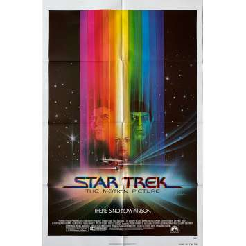 STAR TREK Original Movie Poster Adv. - 27x41 in. - 1979 - Robert Wise, William Shatner