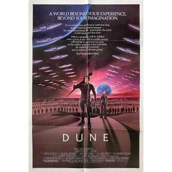 DUNE Original Movie Poster - 27x41 in. - 1982 - David Lynch, Kyle McLachlan