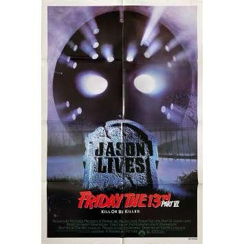 Friday THE 13TH A NEW BEGINING Original Movie Poster - 27x41 in. - 1985 - Danny Steinmann, Melanie Kinnaman