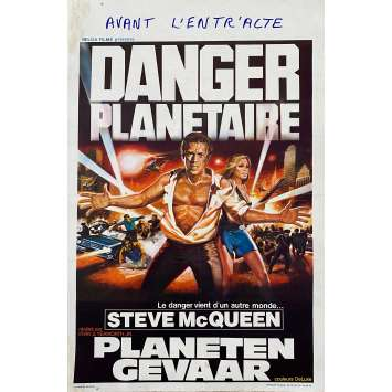 DANGER PLANETAIRE Affiche de film - 35x55 cm. - 1958 - Steve McQueen, Irvin S. Yeaworth Jr