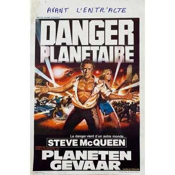 THE BLOB Original Movie Poster - 14x21 in. - 1958 - Irvin S. Yeaworth Jr, Steve McQueen
