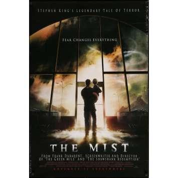 THE MIST Original Movie Poster - 27x41 in. - 2007 - Frank Darabont, Thomas Jane