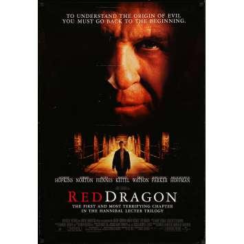 DRAGON ROUGE Affiche de film - 69x104 cm. - 2002 - Anthony Hopkins, Brett Ratner