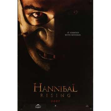 HANNIBAL RISING Original Movie Poster - 27x41 in. - 2007 - Peter Webber, Gaspard Ulliel