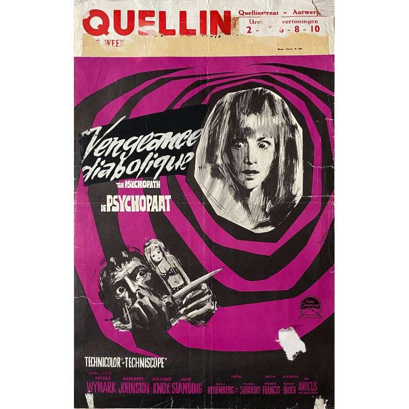 POUPEE DE CENDRES Affiche de film - 35x55 cm. - 1966 - Patrick Wymark, Freddie Francis