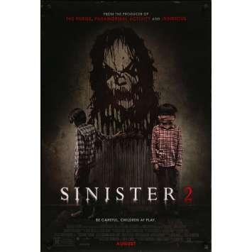 SINISTER II Original Movie Poster - 27x41 in. - 2015 - Ciarán Foy, James Ransone