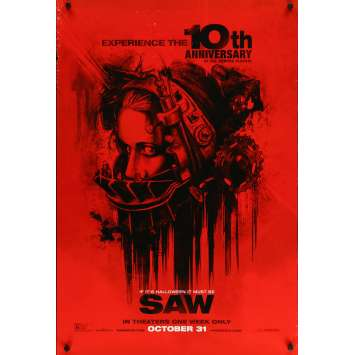 SAW Original Movie Poster - 27x41 in. - 2004 - James Wan, Cary Elwes