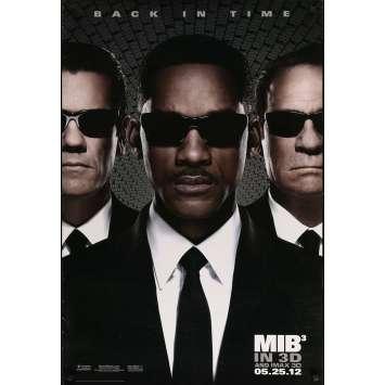 MEN IN BLACK 3 Original Movie Poster - 27x41 in. - 2012 - Barry Sonnenfeld, Will Smith