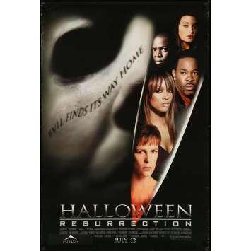 HALLOWEEN RESURRECTION Original Movie Poster - 27x41 in. - 2002 - Rick Rosenthal, Jamie Lee Curtis