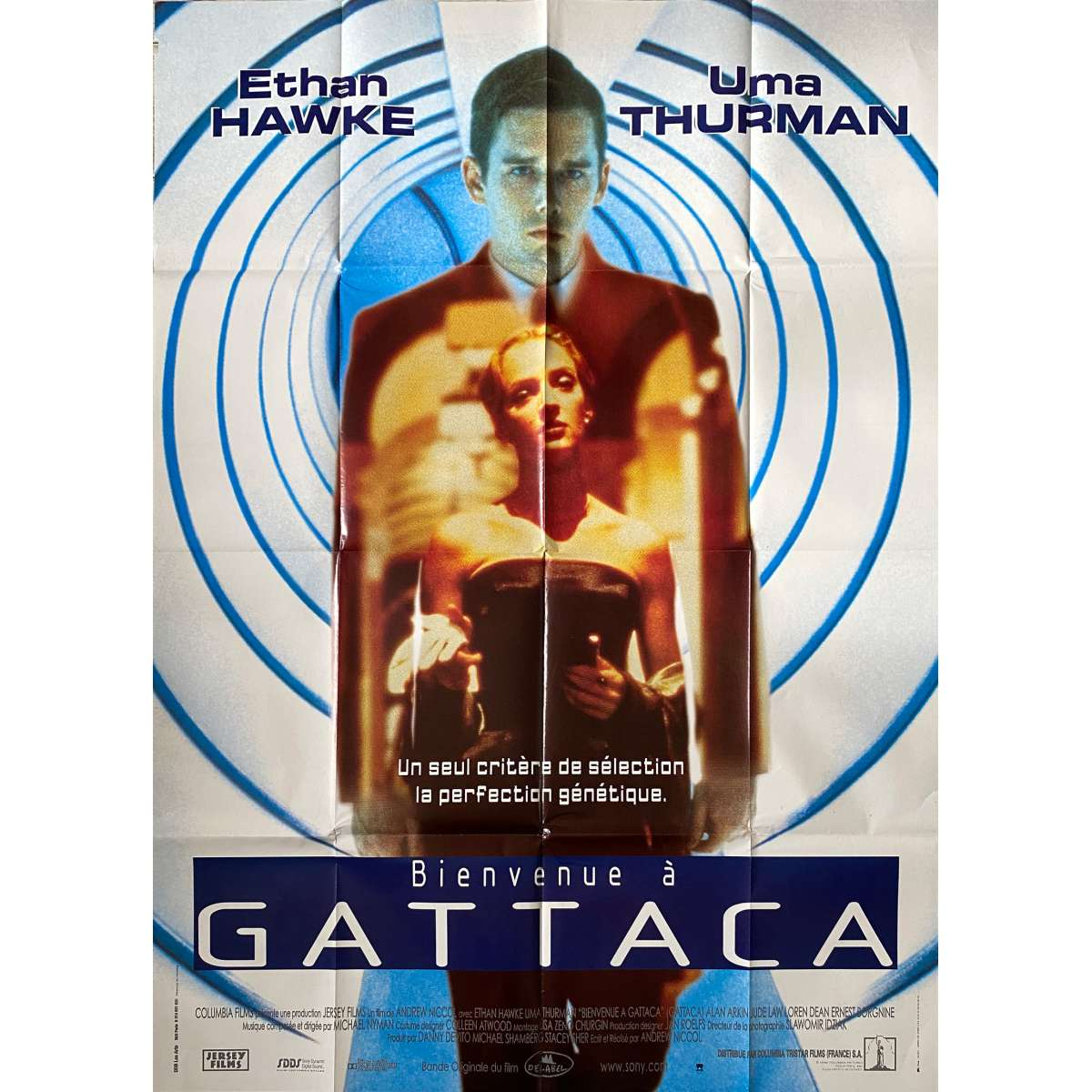 BIENVENUE A GATTACA Affiche de film - 120x160 cm. - 1997 ...