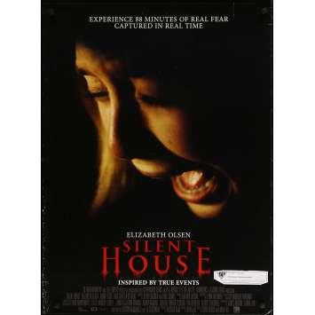 SILENT HOUSE Original Movie Poster - 27x41 in. - 2011 - Chris Kentis, Elizabeth Olsen