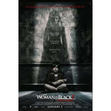 THE WOMAN IN BLACK 2 Original Movie Poster - 27x41 in. - 2014 - Tom Harper, Helen McCrory