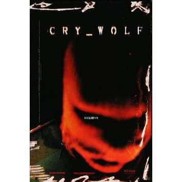 CRY WOLF Original Movie Poster - 27x41 in. - 2005 - Jeff Wadlow, Julian Morris