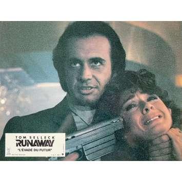 RUNAWAY Original Lobby Card - 9x12 in. - 1984 - Michael Crichton, Tom Selleck